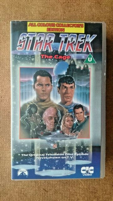 Star Trek Episodes 1 - The Cadge (VHS ) - Full Colour Collectors Edition